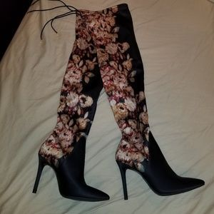 Jessica SIMPSON  over the knee boots Lessy 7.5BM